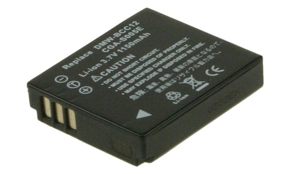 Lumix FX9EB Battery (1 Cells)