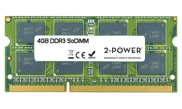 Satellite C650/03R 4GB DDR3 1333MHz SoDIMM