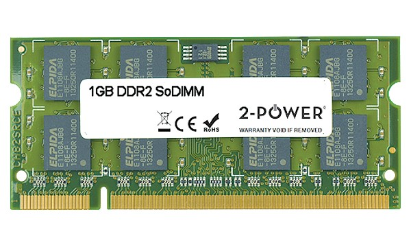 A6JC Q085 1GB DDR2 667MHz SoDIMM