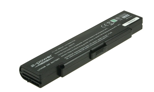 Vaio VGN-AR350E Battery (6 Cells)