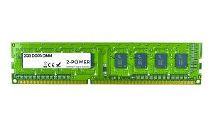 SNPY996DC/2G 2GB MultiSpeed 1066/1333/1600 MHz DIMM